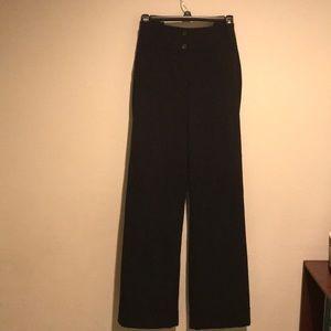 Size 18R Lena black wide leg pant by Lane Bryant
